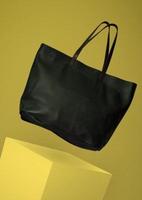 Black Kinsale Leather Alabama tote