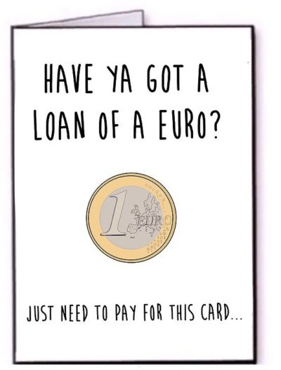 loan of a euro