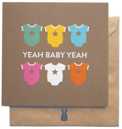 Yeah Baby Yeah Card