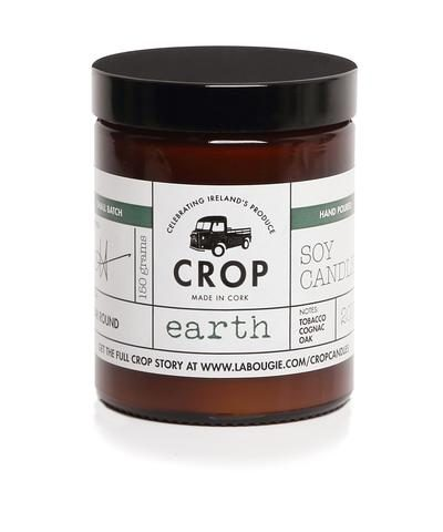 Earth crop candle