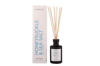 Diffuser honeysuckle and sea salt la bougie