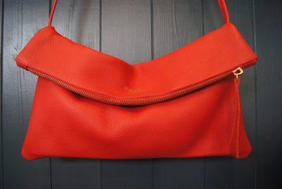Jamie two way bag cherry kinsale leather