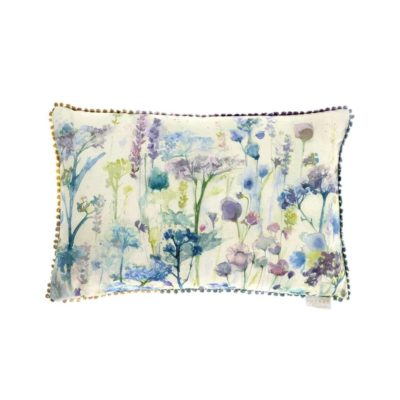 cushion wildflower white voyge maison