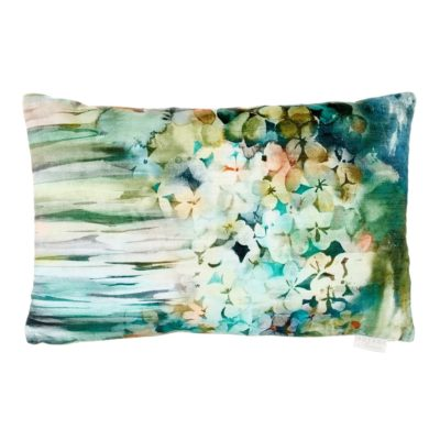 velvet cushion sisa forest voyage maison