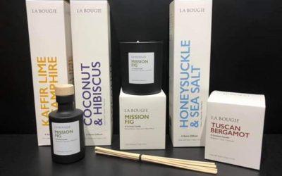 La Bougie rebrands & reels us in with new fragrances.