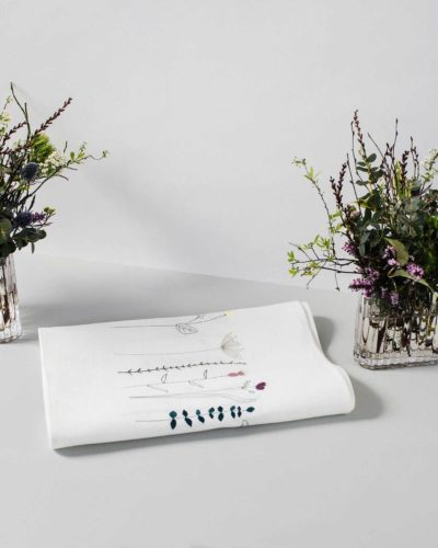 linen irish table runner wildflower jennifer slattery