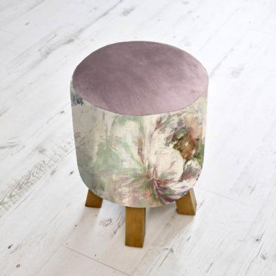 footstool roseum monty voyage maison
