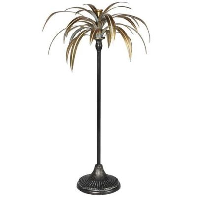 Palm candle holder large