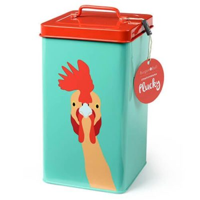 Burgon & Ball Chicken Tin