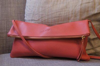 Jamie two way bag persian pink