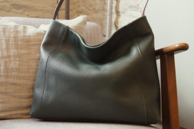 Jessa hobo forest green kinsale leather bag