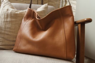 Jessa Hobo kinsale leather bag warm tan