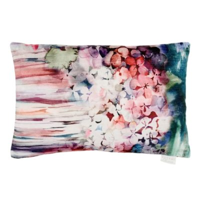 Sisa Coral Voyage Maison cushion velvet