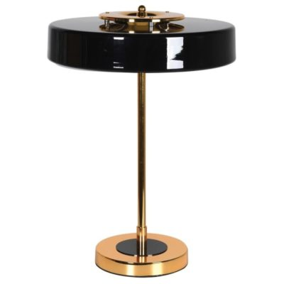 Black & Gold Art deco lamp