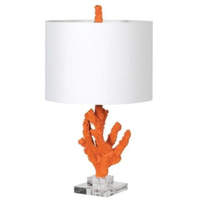 Orange Coral lamp