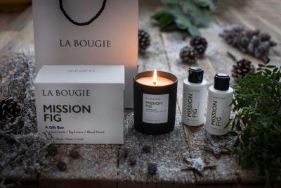 La Bougie mission fig gift set