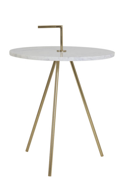Marble & Gold Table