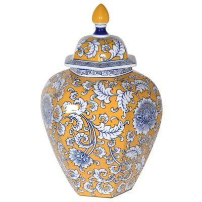 Yelow Temple Jar